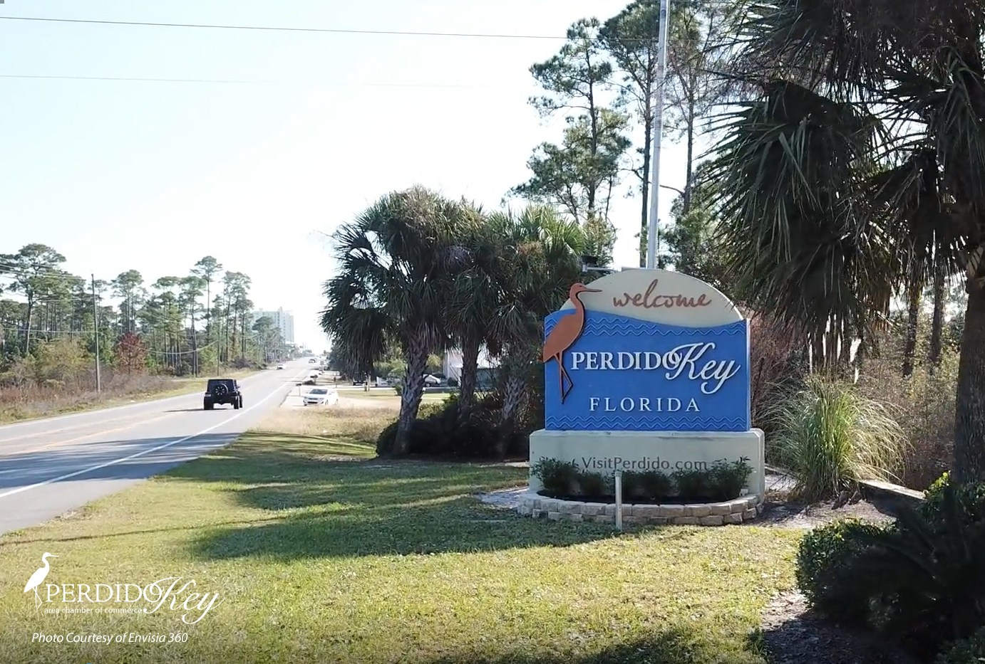 Perdido Key Welcome Sign